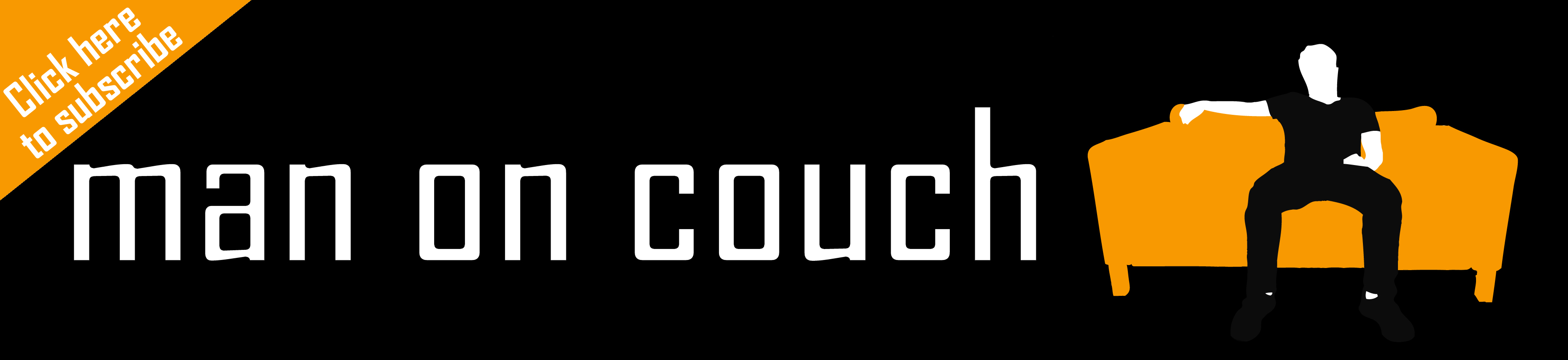 man on couch logo